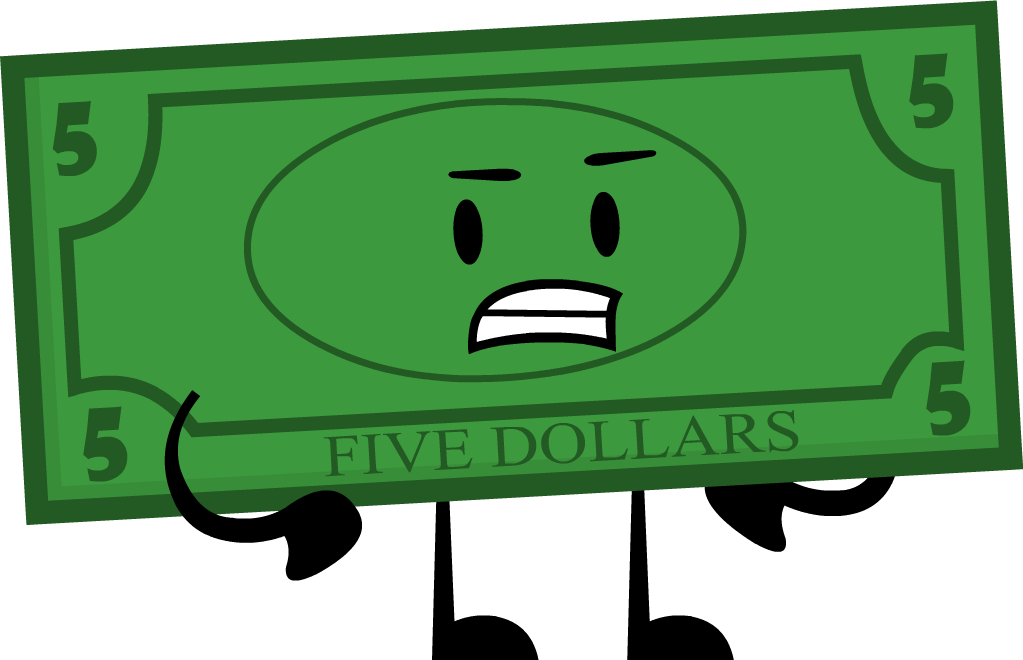 Five dollar bill png. Image pose cool insanity