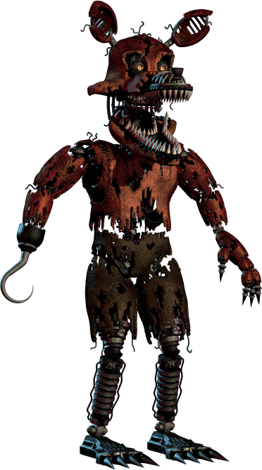 Five nights at freddy's 4 png. Image nightmare foxy freddy