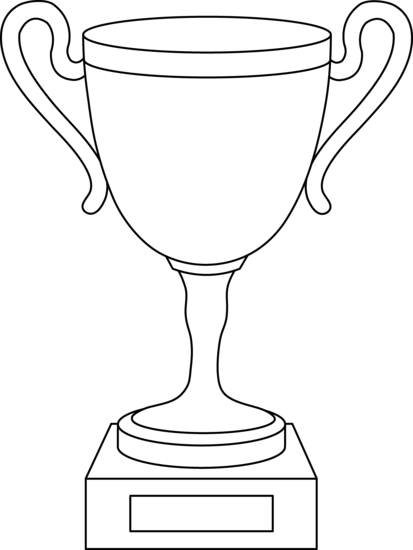 Trophy pages books worth. Page clipart coloring banner free