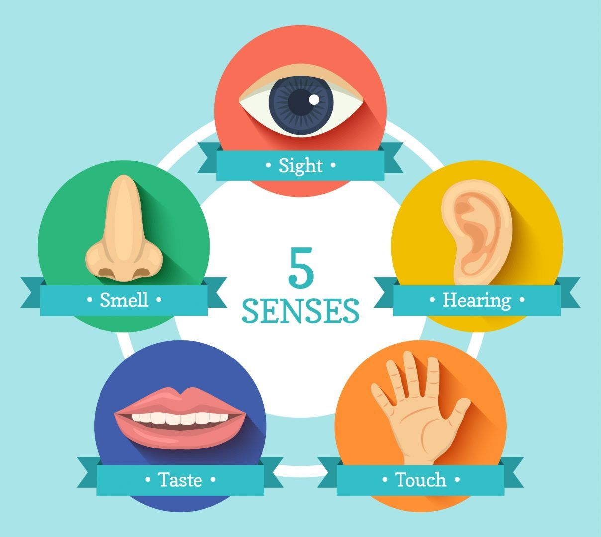 Five senses clipart sensory marketing. Engaging the in event