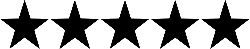 Five star png. Hotel svg icon free