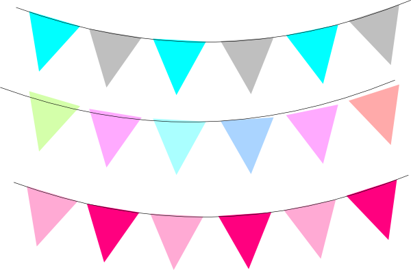 Pins vector flag banner. Png blog banners clip