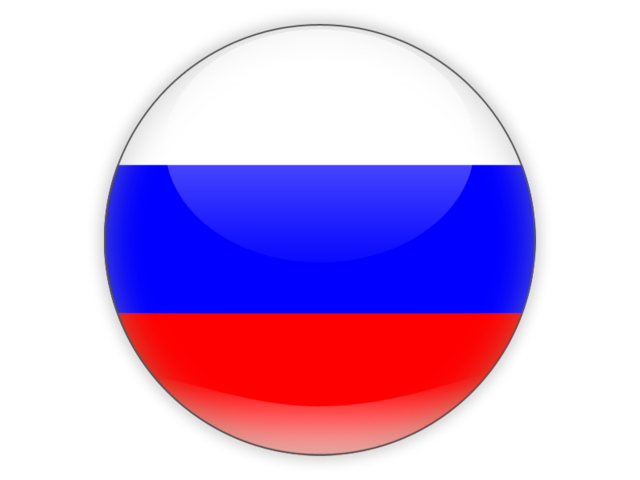 Russian flag png. Round icon download of