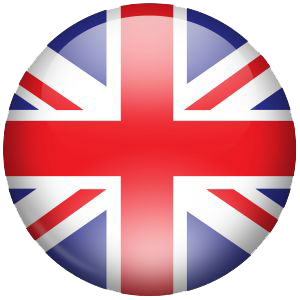 British flag png. Circle uk transparent stickpng