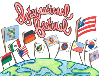 flag clipart international food