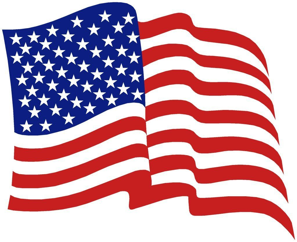 Flag clipart kid. American banner miscl pinterest