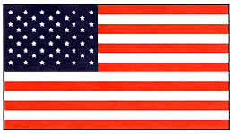 Flag clipart printable. U s a independence