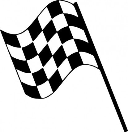 Racing flags free race. Flag clipart printable graphic freeuse
