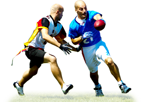 Flag football player png. Home freestate sports arena