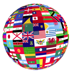 Flag globe png. Off campus student services