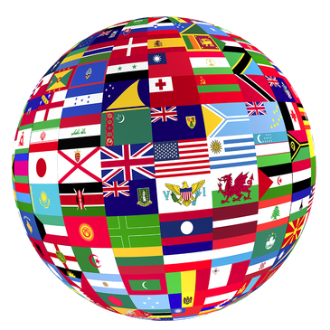 Flag globe png. C s lewis and