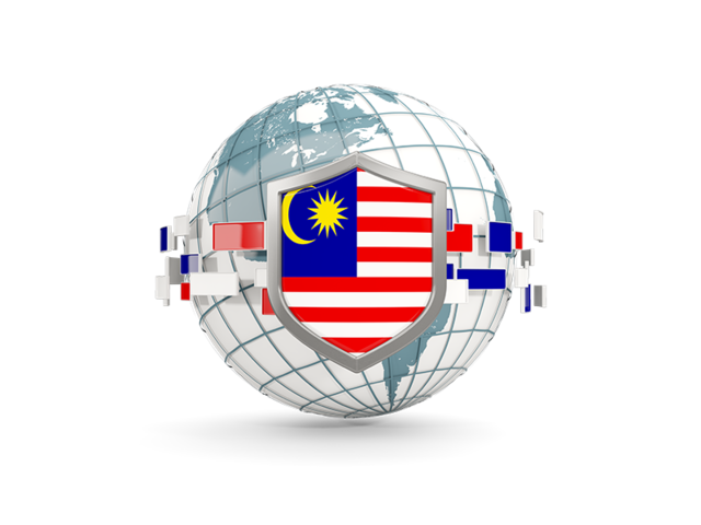 Flag globe png. With shield illustration of