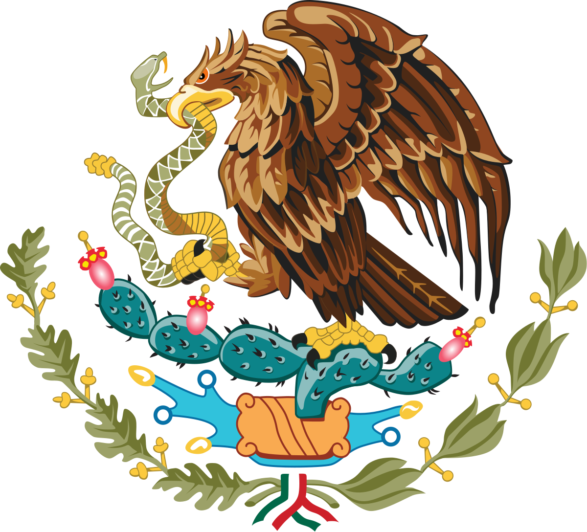 Flag of mexico png. Coat arms wikipedia