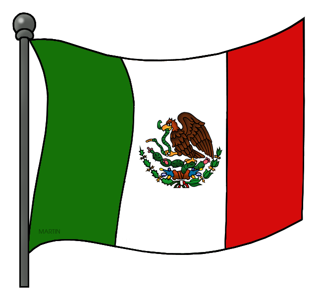 Flag of mexico png. Mexican clipart at getdrawings