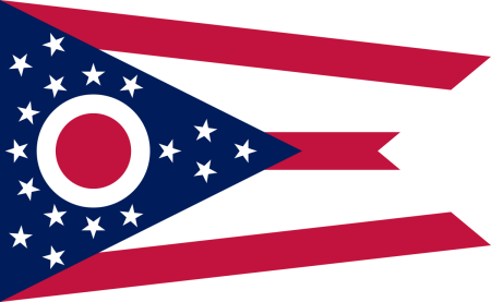 Flag vector png. Free ohio images ai