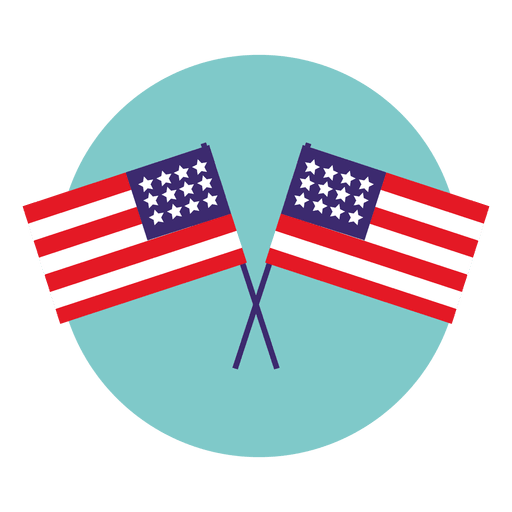 Usa round icon transparent. Svg flags banner freeuse library