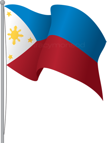 Flagpole clip. Philippine flag clipart at