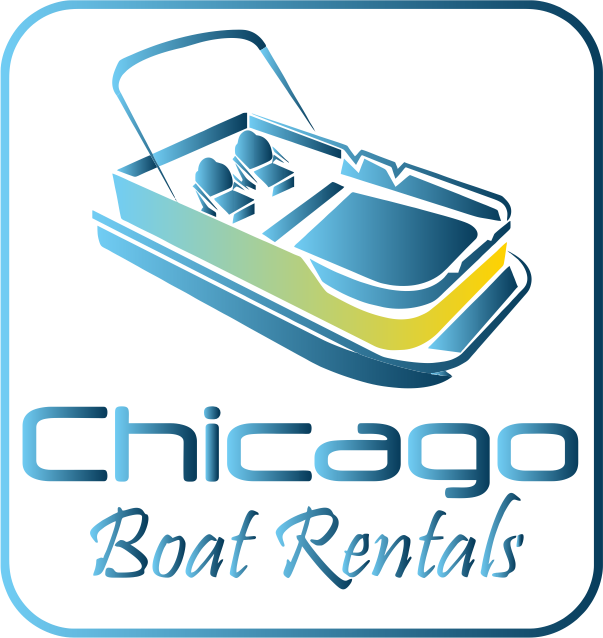 Flagpole clip pontoon boat. Chicago rentals corporate tailgate