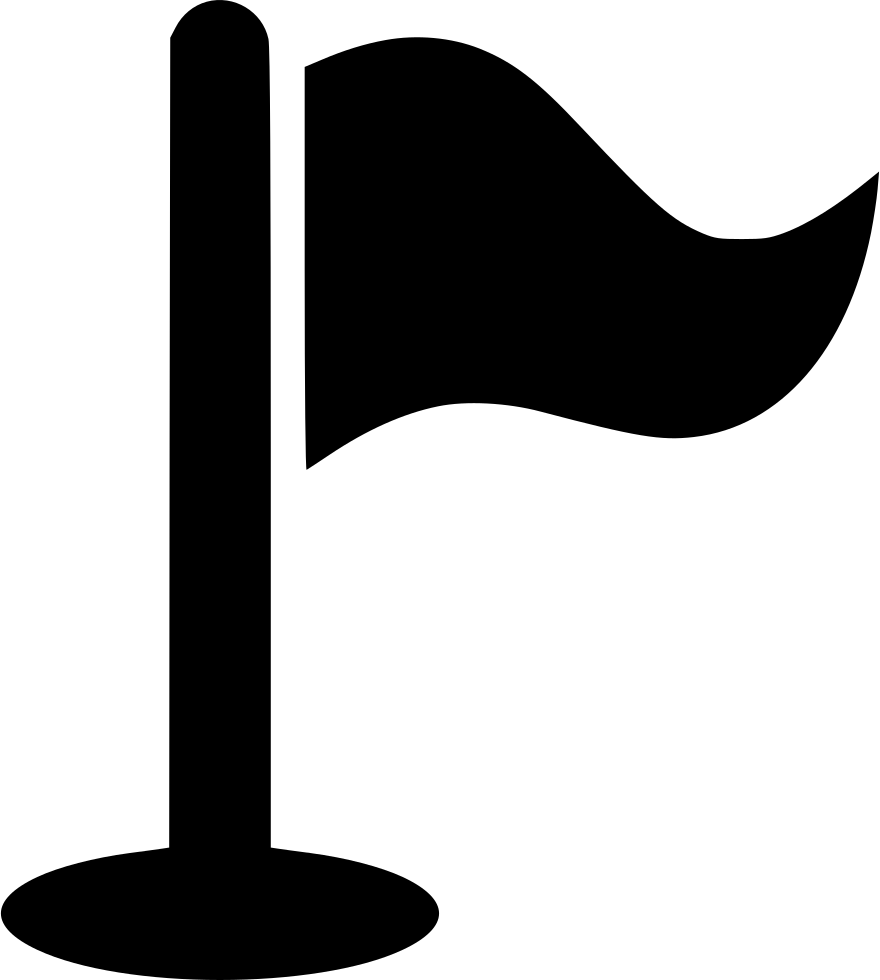 Flagpole clip quick release. Flag pole svg png