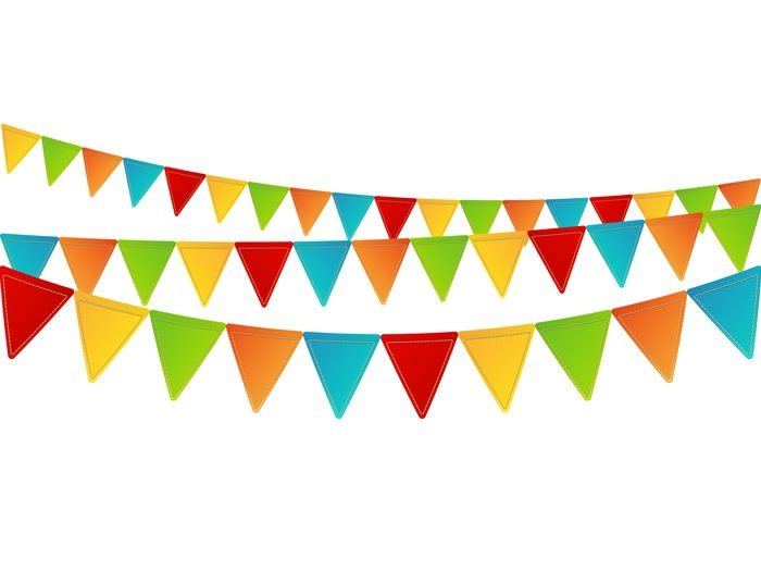 Flags clipart celebration. Flag pencil and in