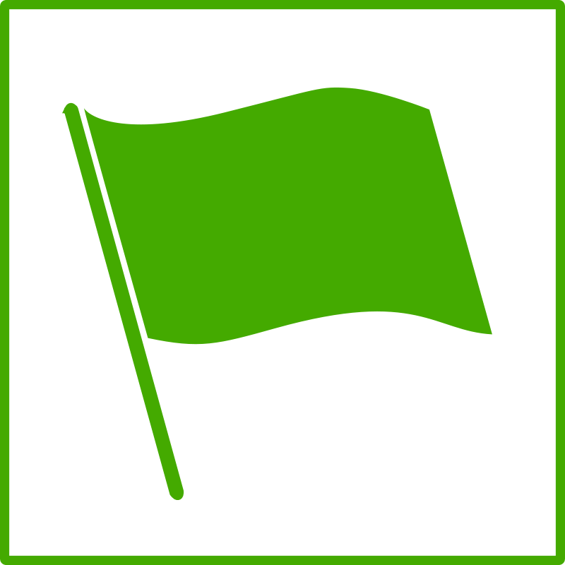 reminder clipart green