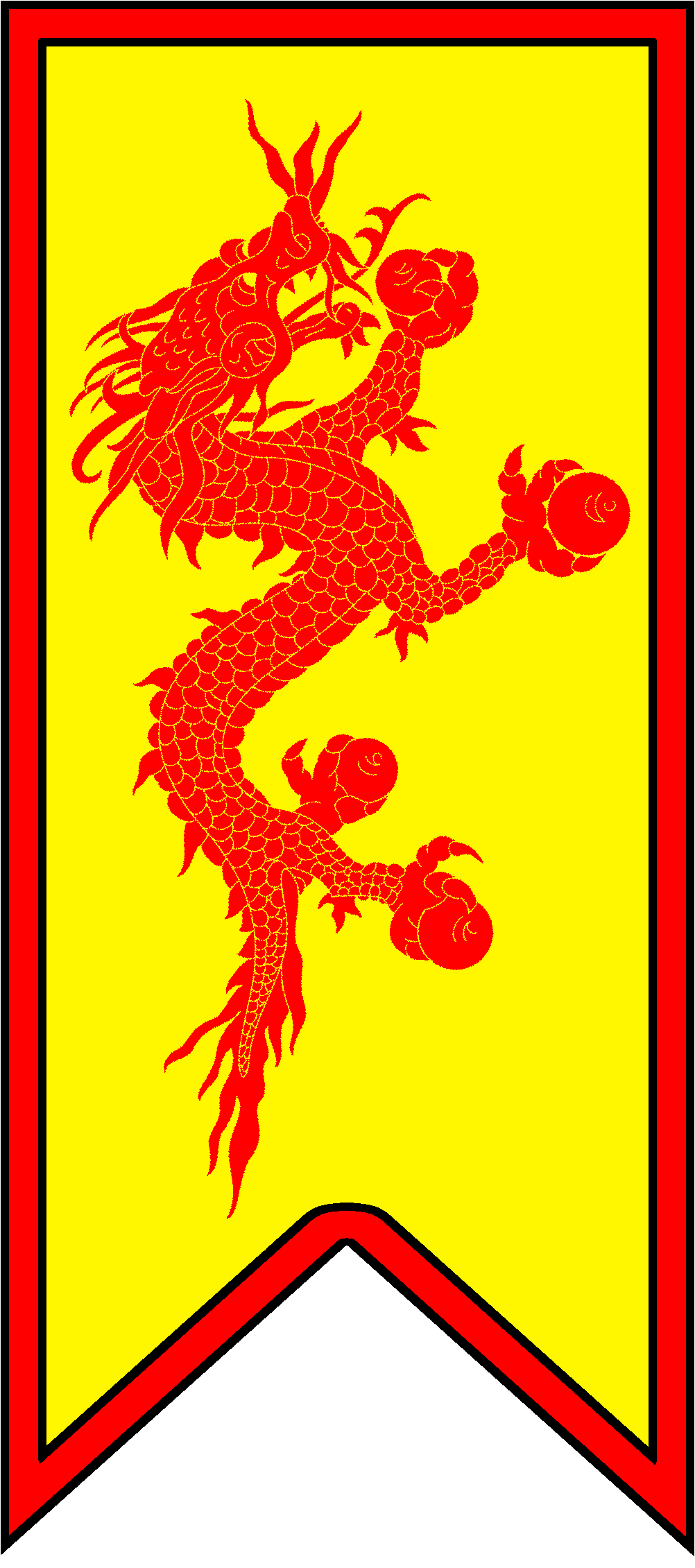 Medieval banner png. Ish for a castle