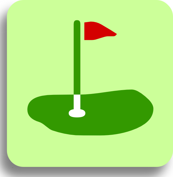Flags clipart mini golf. Clip art at clker