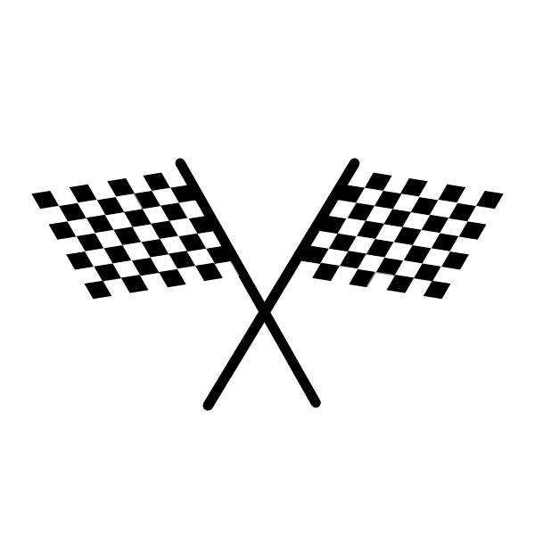 Checkered vector svg. Free racing flag clipart