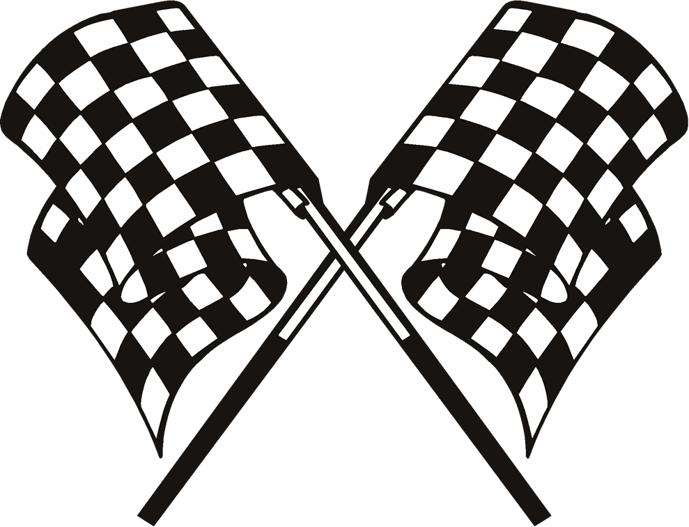 checkered vector victory flag