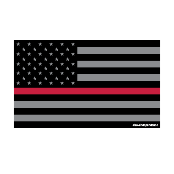 Flags clipart thin red line. Smoked american flag ms