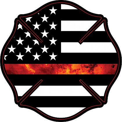 Flags clipart thin red line. Gettin salty firefighter maltese