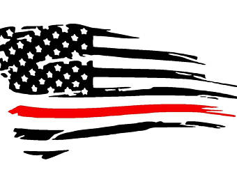 Flags clipart thin red line. White flag etsy more