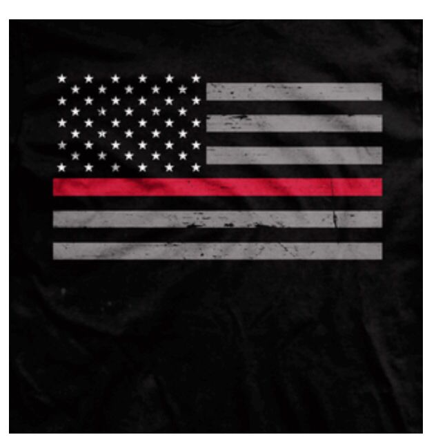 Flags clipart thin red line. Tattoo idea american flag