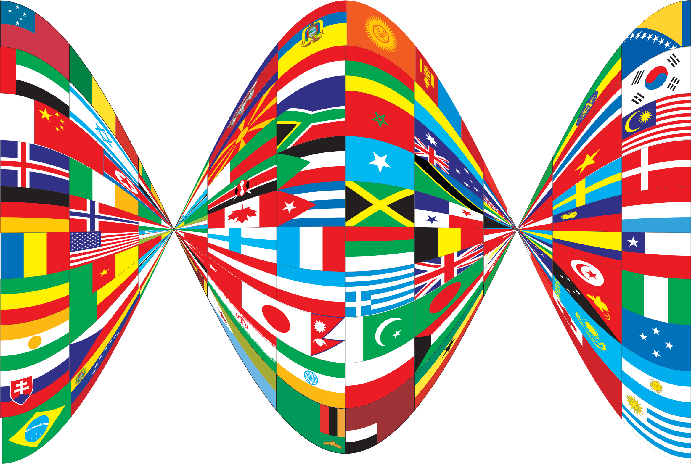 Flags of the world png. Twist icons free and