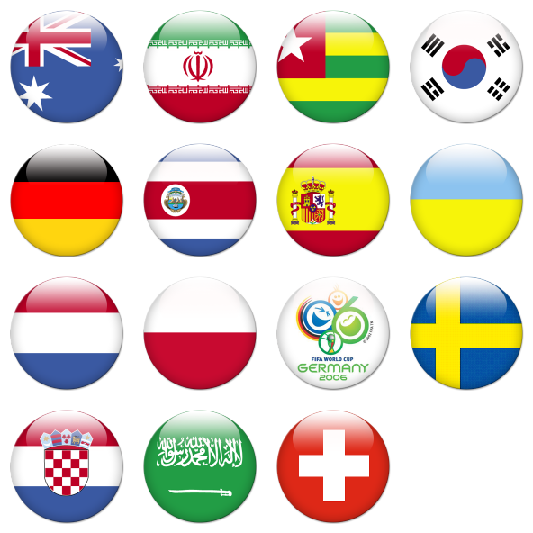 Flags of the world png. Cup free icons icon