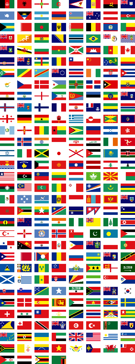 Flags of the world png. You re home flag