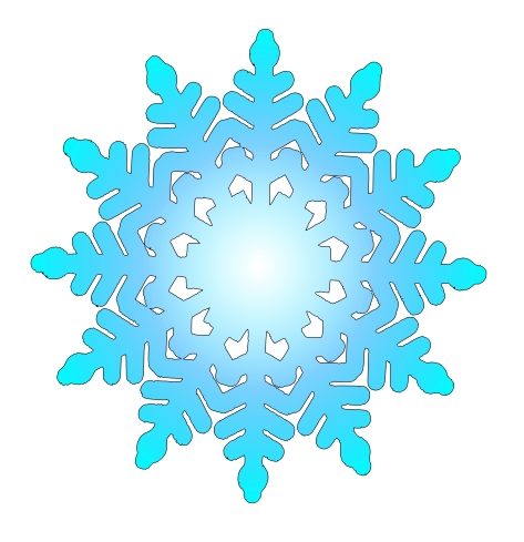Snowflakes clipart country. Free snow flake cliparts