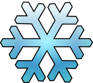 snowflakes clipart simple