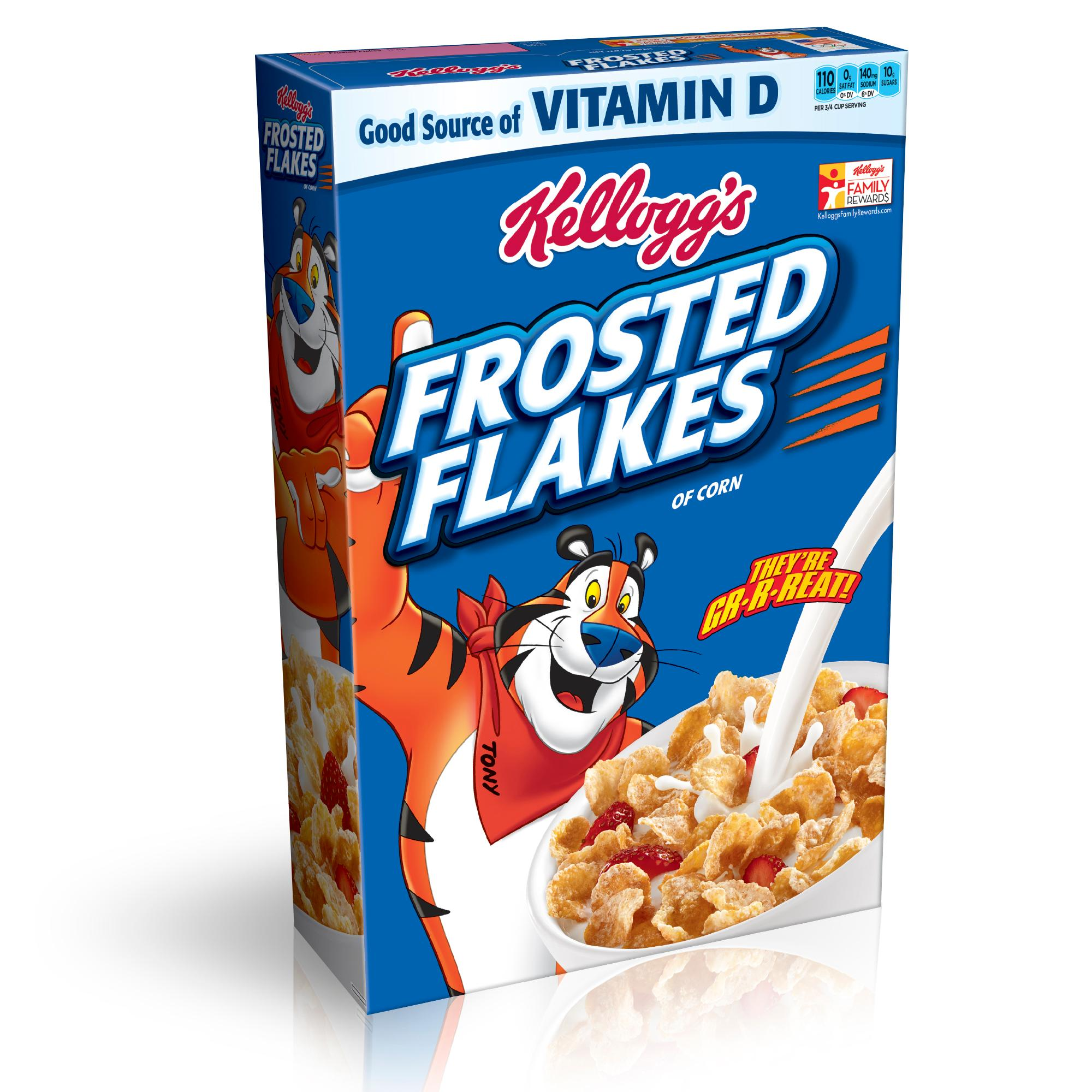 Flake clipart frosted flakes. Amazon com kellogg s