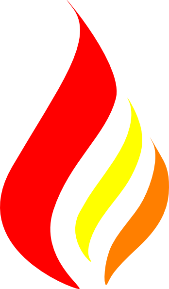 Flame art png. Candle logo clip at