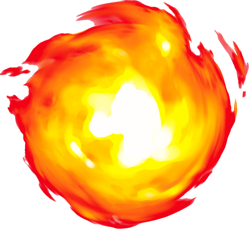 Flame ball png. Image fireball the lookout