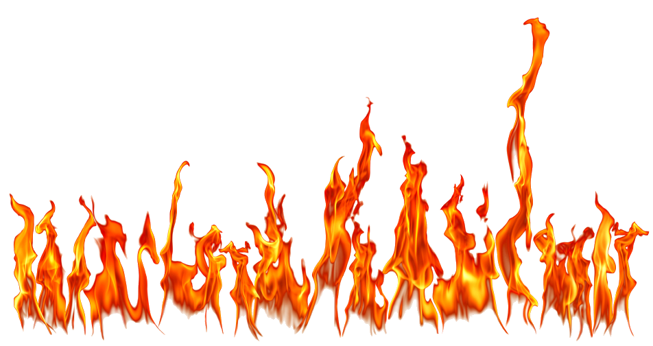 letter f fire png