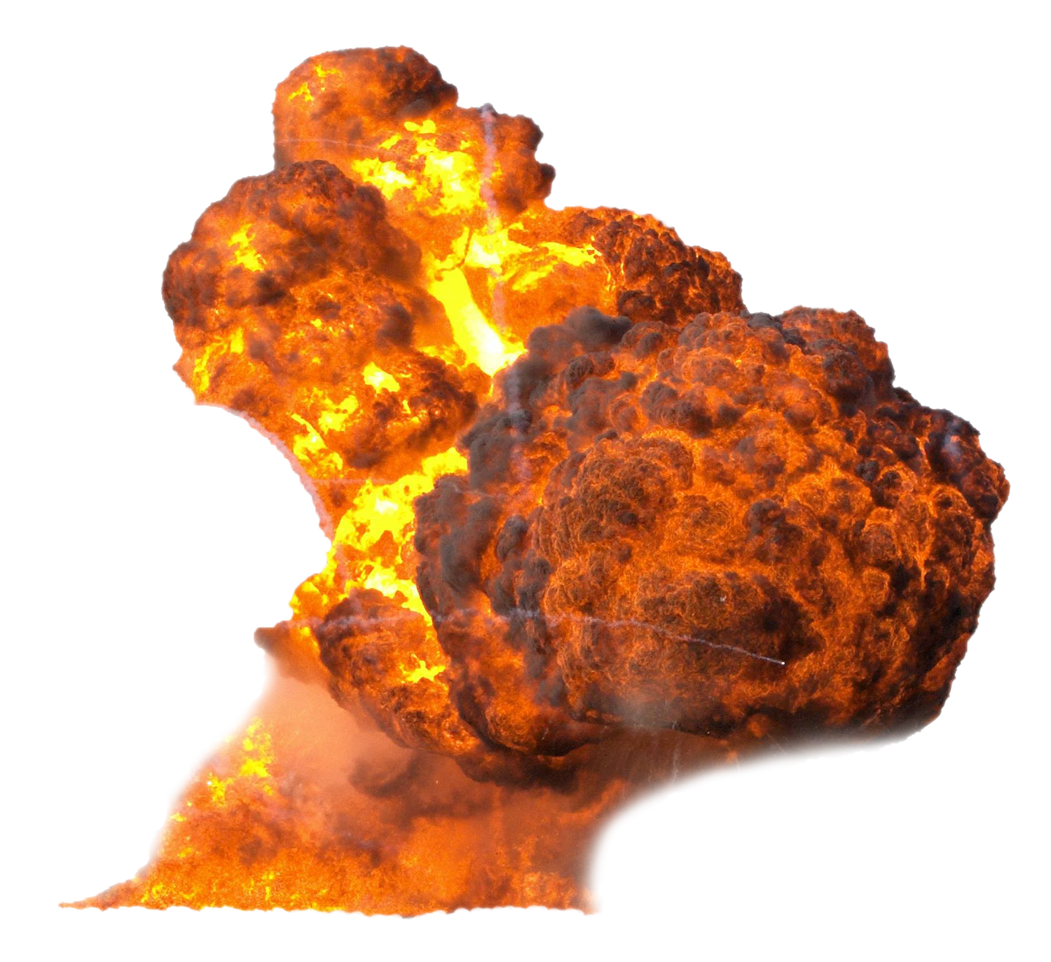 Smoke and fire png. Explosion image purepng free