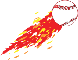 Flame clipart baseball. With i royalty free