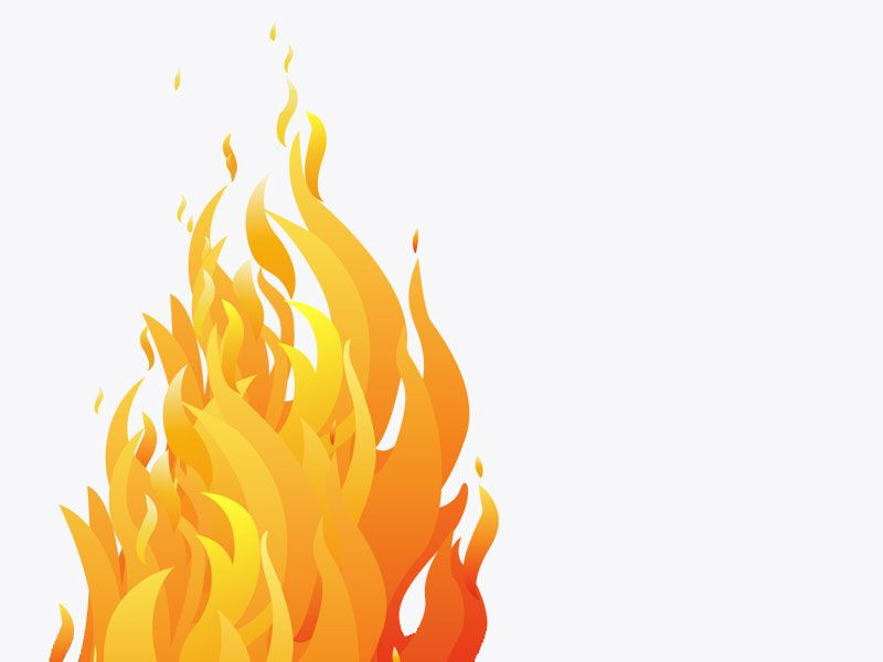 Flame clipart clear background. Image flames transparent fire