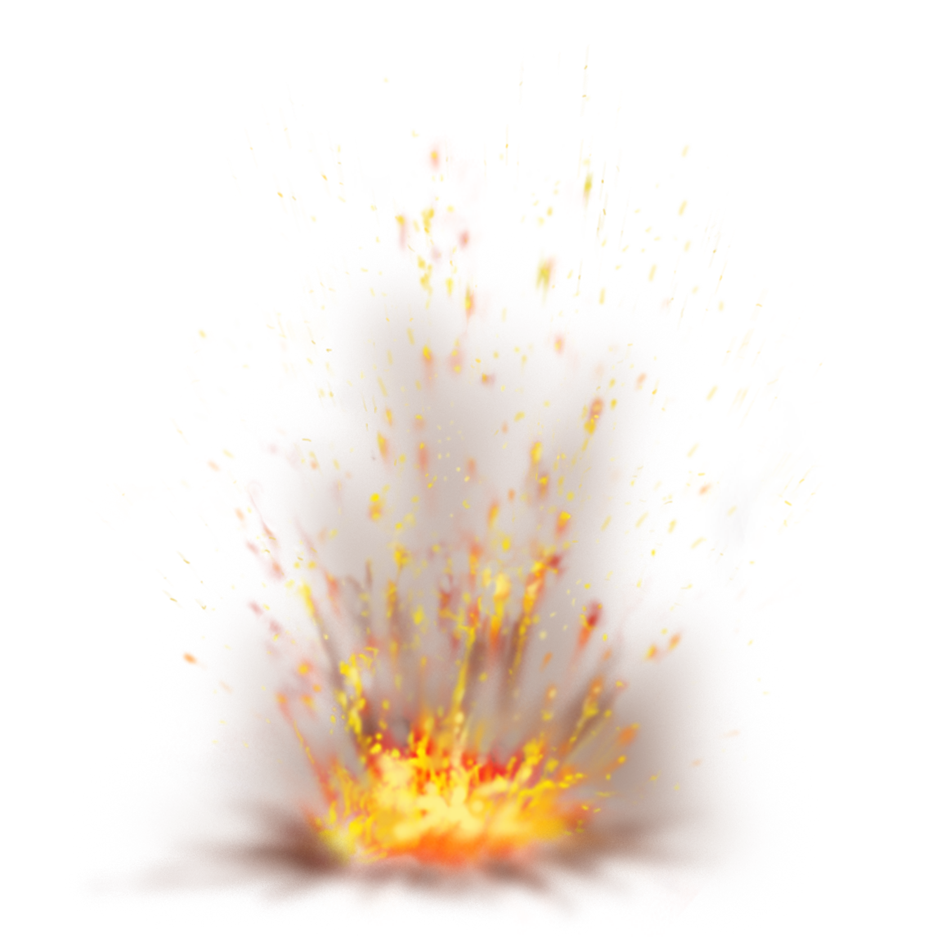 Fire Smoke Transparent Background