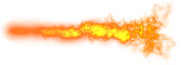 flaming letters png