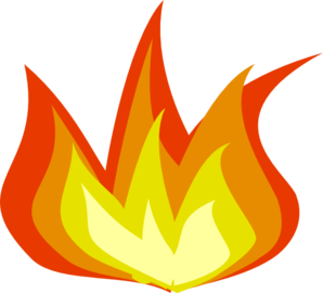 . Flames clipart royalty free