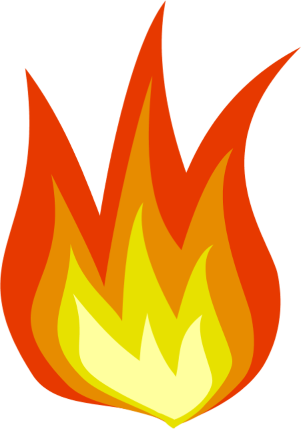 Flames clipart fire spark. Free house on download