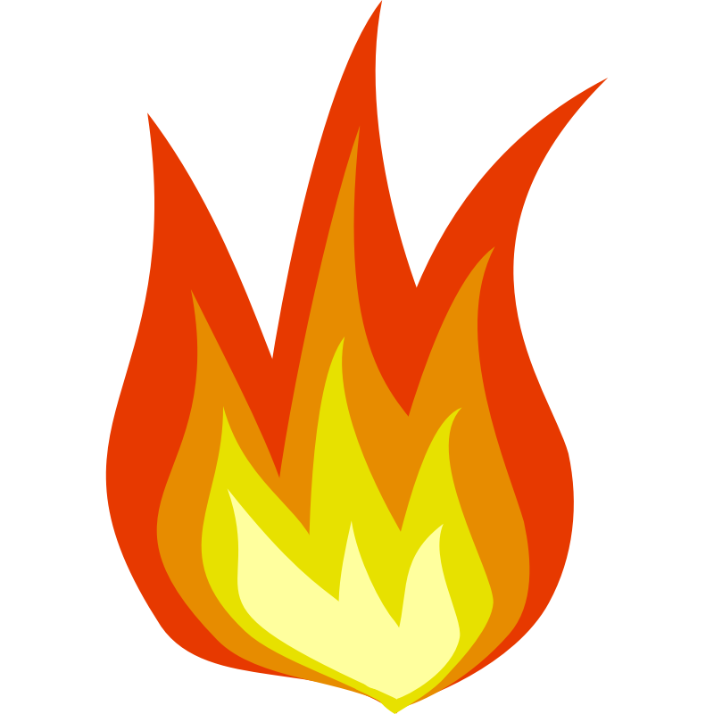 Flames clipart stove fire. Free cartoon images download